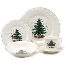 <strong>Nikko Ceramics</strong> Happy Holidays Dinnerware Set