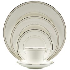<strong>Nikko Ceramics</strong> Platinum Beaded Pearl Dinnerware Set