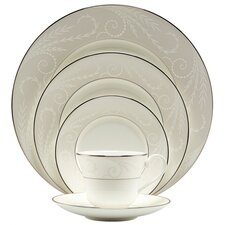 <strong>Nikko Ceramics</strong> Pearl Ariel 5 Piece Place Setting