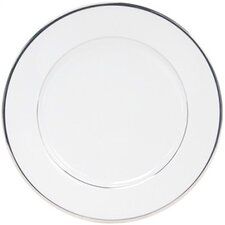 "Sentiments Band of Platinum 10.5"" Dinner Plate"