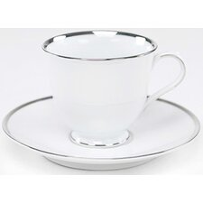 "Sentiments Band of Platinum 6"" Saucer"
