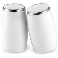 Sentiments Salt and Pepper Set with Platinum Band