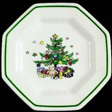 "Happy Holidays 7"" Bread and Butter Plate (Set of 4)"