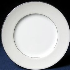 "<strong>Nikko Ceramics</strong> Platinum Beaded Pearl 6"" Bread and Butter Plate"