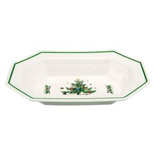"Christmastime 10.5"" Vegetable Bowl"