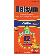 Delsym 5 oz. Children's 12 Hour Orange Cough Relief Liquid