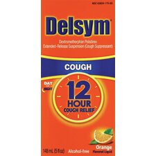 Delsym 5 oz. Adult 12 Hour Orange Cough Relief Liquid