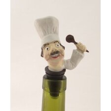 3 Piece Restaurant Bottle Stopper Set