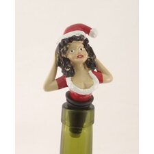 3 Piece Number One Christmas Bottle Stopper Set