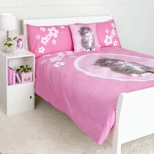 So Sweet Kitten Duvet Cover Queen Set