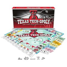 Texas Tech-Opoly Board Game