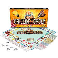 Grillin-opoly Board Game