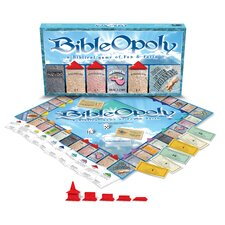 <strong>Late for the Sky</strong> Bible-opoly Board Game
