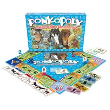 <strong>Late for the Sky</strong> Pony-opoly Board Game