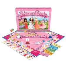 <strong>Late for the Sky</strong> Princess-opoly Board Game