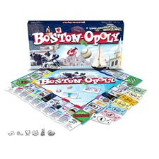 Boston-Opoly Board Game