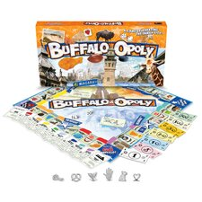 Buffalo-Opoly Board Game