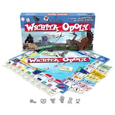 <strong>Late for the Sky</strong> Witchita-Opoly Board Game