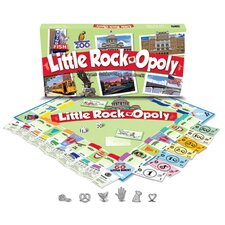 Little Rock-Opoly Board Game