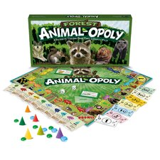 Forest Animal-Opoly Board Game