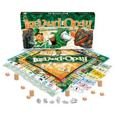 <strong>Late for the Sky</strong> Ireland-Opoly Board Game