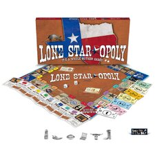 <strong>Late for the Sky</strong> Lone Star-Opoly Board Game