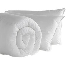 Duvet & 2 Pillows Non Allergenic Hollowfibre