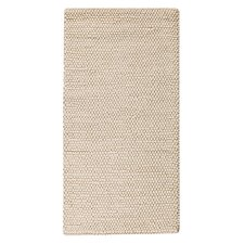 Marbles Natural White Contemporary Rug