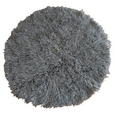 Natural Grey Flokati Rug