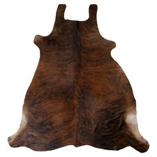 Cowhide Natural Brown Rug