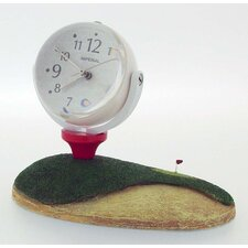 Golf Mini Mag Globe Clock