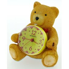 Teddy Mini Mag Globe Clock