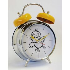 Duck Voice Twin Bell Quartz Alarm Clock