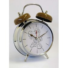 Horse Voice Twin Bell Quartz Alarm Clock