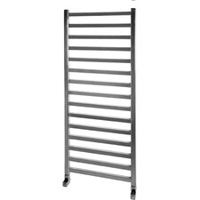 Square Towel Rail in Chrome
