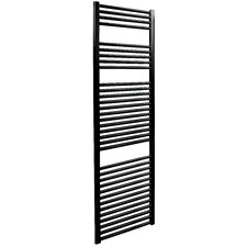 Straight Towel Rail in Black