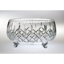 "<strong>Majestic Crystal</strong> Plaza 5.75"" Crystal Footed Bowl"