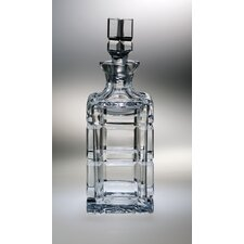 <strong>Majestic Crystal</strong> Blossom 28 oz. Crystal Decanter