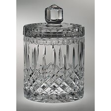 Plaza Crystal Cookie Jar