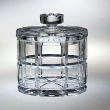 "Blossom 6.25"" Crystal Cookie Jar"