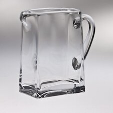 "6.75"" and 32 oz. High Quality Glass Pitcher"