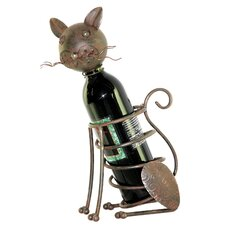 <strong>River Cottage Gardens</strong> Cat Wine Holder