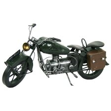 <strong>River Cottage Gardens</strong> Decor Model Motorcycle