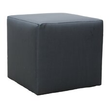 Cubic Faux Leather Stool