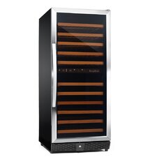 120 Bottle Dual Zone Compressor Wine Cooler