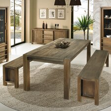 Linear 3 Piece Dining Set