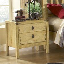 <strong>Wildon Home ®</strong> Tahoe 2 Drawer Nightstand