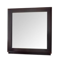 Casa Café Mirror in Wooden Frame