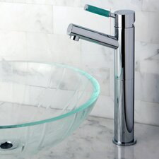 Green Eden Single Handle Vessel Sink Faucet