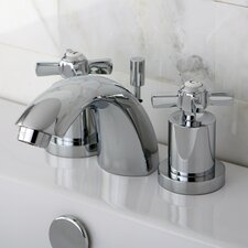 <strong>Kingston Brass</strong> Millennium Double Handle Widespread Bathroom Faucet